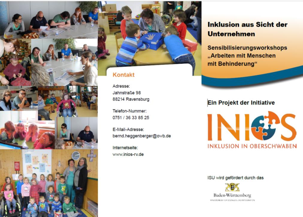 Flyer Sensibilisierungs-Workshops